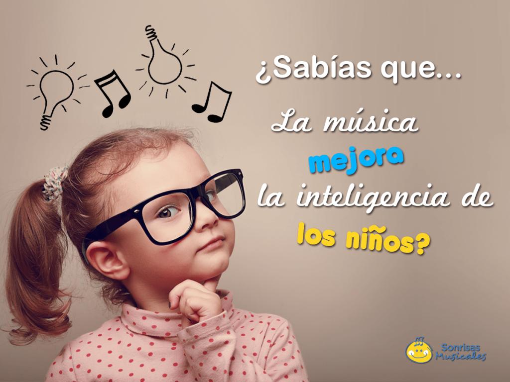 La música estimula la inteligencia