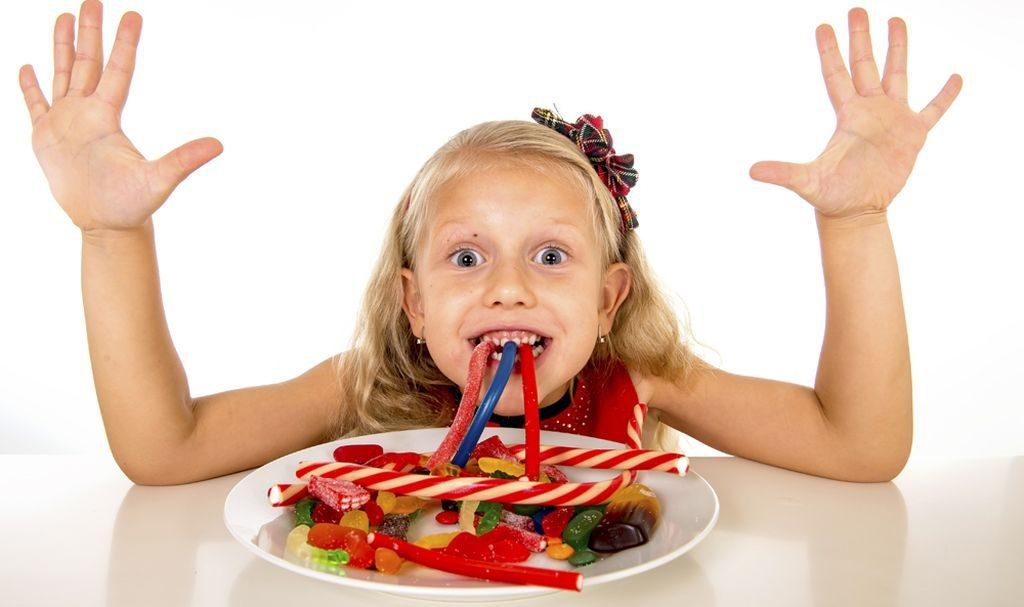 El azúcar en los niños