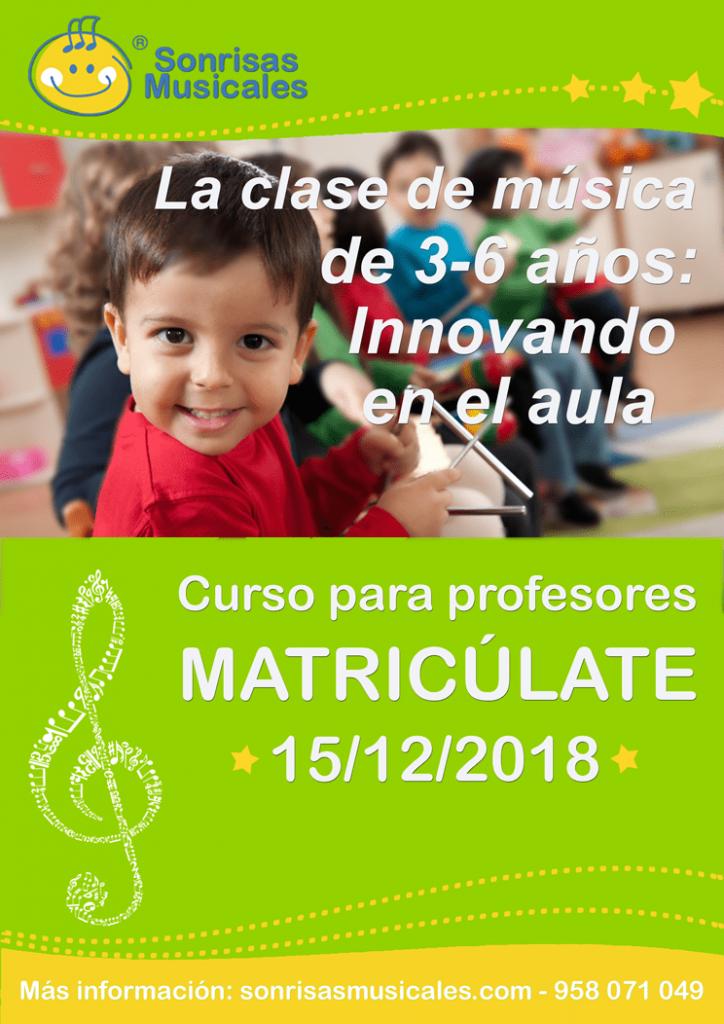 Curso de formación musical para bebes innovando